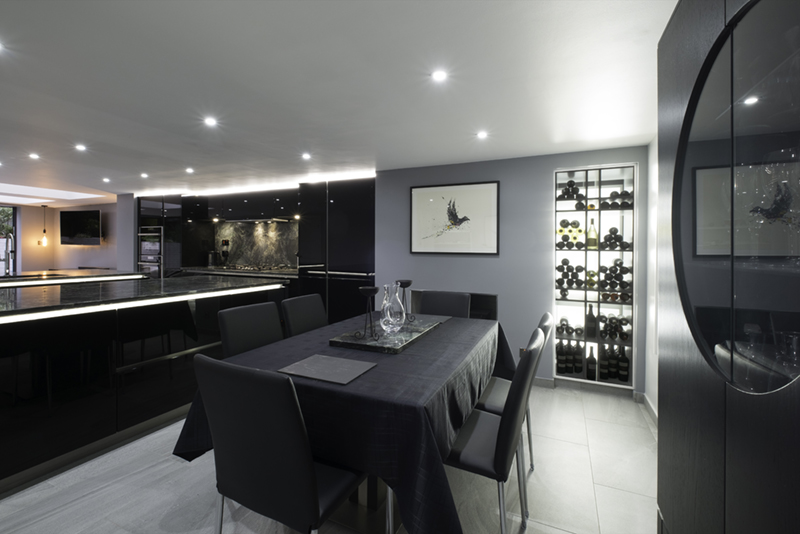 Battersea Basement Kitchen design