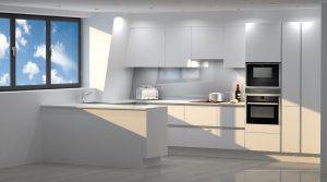 Contemporary loft Kitchen